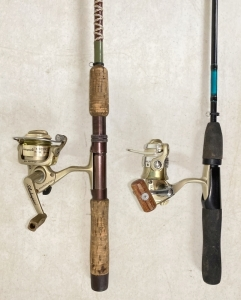 Modern Fishing Rods & Reels