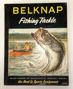 1954 Belknap Fishing Tackle Catalog No. 54