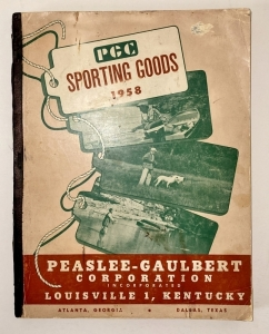 1958 PGC Sporting Goods Catalog