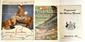 Vintage Fishing & Boating Sales Literature