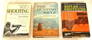 Vintage Shooting Themed Hardbound Books