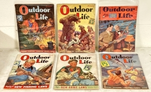Vintage Outdoor Life Magazines
