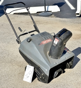 "Craftsman Electric 5HP 21"" Snow Thrower"