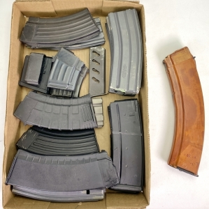 AK-47 and Assorted Magazines