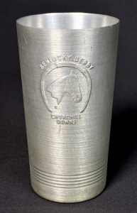 1940 Kentucky Derby Aluminum Julep Glass
