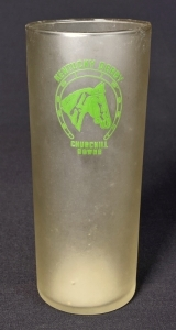 "1945 Kentucky Derby ""Tall"" Julep Glass"
