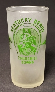 "1948 Kentucky Derby ""Clear Bottom"" Julep Glass"