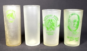 1945-1949 Set of Kentucky Derby Julep Glasses