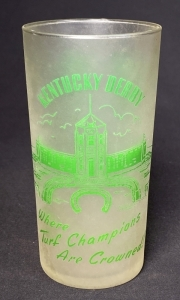 1951 Kentucky Derby Julep Glass
