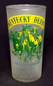 1955 Kentucky Derby Julep Glass