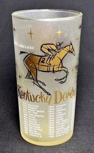 1958 Kentucky Derby Julep Glass