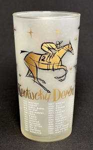 1957 Kentucky Derby Julep Glass