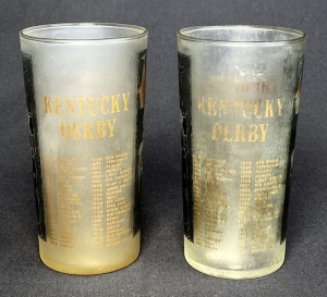 1959 Kentucky Derby Julep Glass