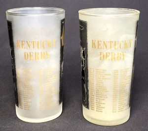 1959 Kentucky Derby Julep Glasses
