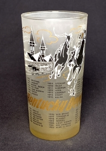 1960 Kentucky Derby Julep Glass