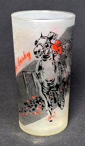 1961 Kentucky Derby Julep Glass