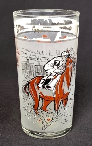 1963 Kentucky Derby Julep Glass