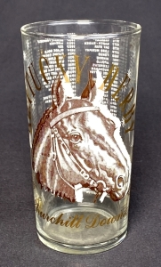 "1964 Kentucky Derby ""Clear"" Julep Glass"