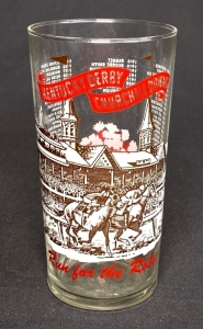 "1965 Kentucky Derby ""Clear"" Julep Glass"