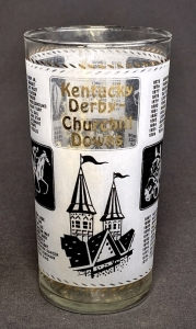 1967 Kentucky Derby Julep Glass