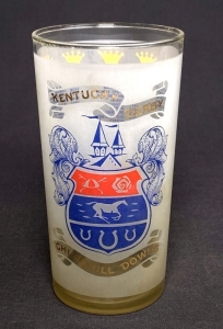 1968 Kentucky Derby Julep Glass
