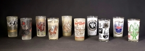 1960-1969 Set of Kentucky Derby Julep Glasses
