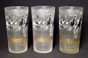1960 Kentucky Derby Julep Glasses
