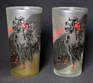 1961 Kentucky Derby Julep Glasses