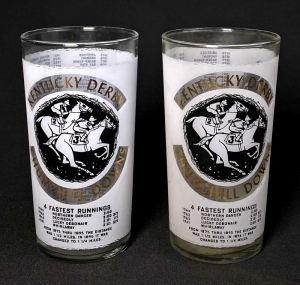 1966 Kentucky Derby Julep Glasses