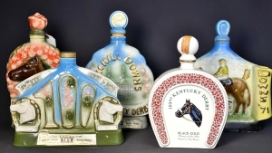 Kentucky Derby Decanters