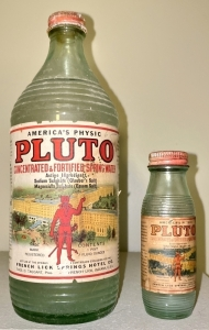 Vintage French Lick Springs Pluto Water Advertising Items