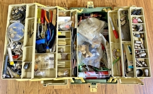 Electronic Repair Tool Box & Contents