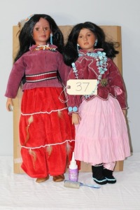 Native Amercican Dolls
