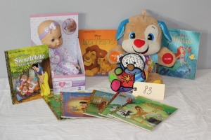 Books and Toy Set