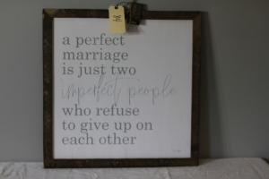 Perfect Marriage Wallhanging