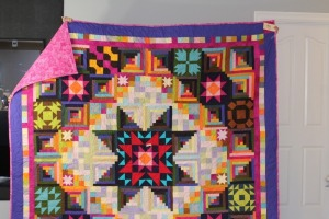 Colorful, Multi-patterned Quilt