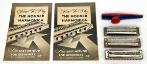 "M. Hohner German ""Marine Band No. 365"" Harmonicas"