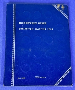 Roosevelt Dime Whitman Book