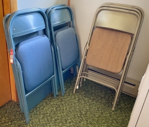 Folding Chairs & Table
