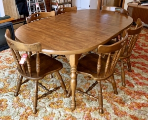 Keller Maple Dining Table with Chairs