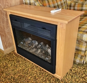 Heat Surge Electric Fireplace