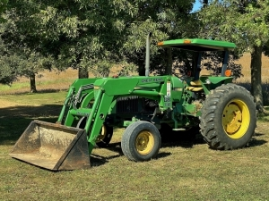 John Deere 2555 Tractor with Great Bend 440 Loader