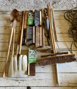 Long-Handled Tools & Brooms