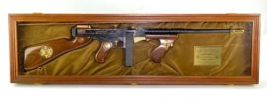 "Auto Ordinance Corp Thompson 1927A1 ""Law Enforcement-Sheriff & Deputy Sheriff"" Commemorative 45 Cal Rifle"