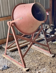 Sears Gas Powered Concrete Mixer
