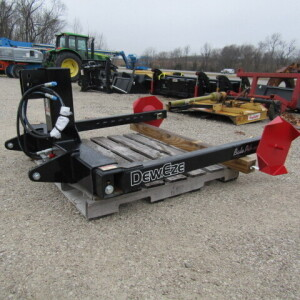 Deweze 165-I Combination Round Bale Pick-Up/Unroller