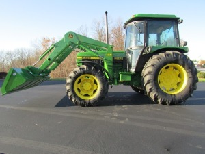 1989 John Deere 2355 4x4 Tractor with Loader