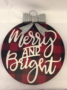 Merry and Bright Wall Hanging