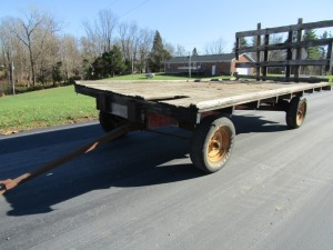 Electric 6-Ton Running Gear with Flatbed