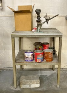 Foley Brazing Table & Accessories